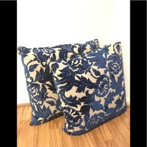 Accessories - 2 goose down throw pillows.